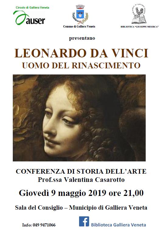 Conferenza su Leonardo da Vinci